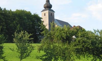 Foto der Bergkirche St. Veit in Toberstetten - Neuhofen